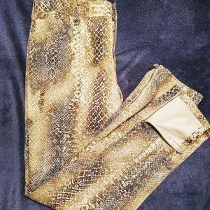 NWOT Ralph Lauren Snake/Python Print Jeans